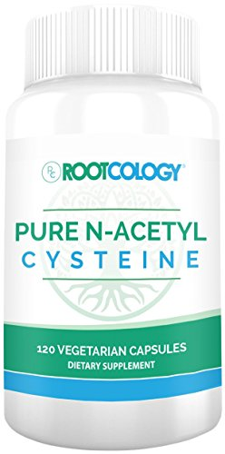 Rootcology Pure N-Acetyl-Cysteine, 120 Capsules, by Izabella Wentz Author of The Hashimotos Protocol
