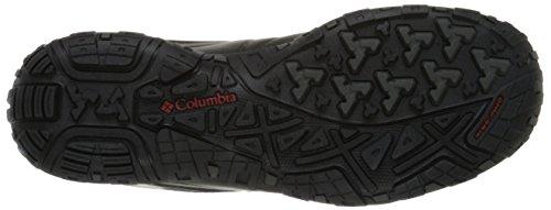 Columbia Scarpe Casual da Uomo, Impermeabili, Peakfreak Venture Nero (Black, Gypsy 010)