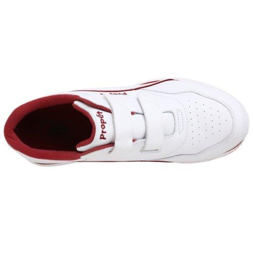 Propet Womens Tour Walker Strap Sneaker White/Berry psvsGm
