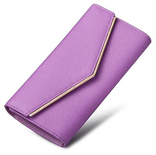 Pieghe Blu Purple Forma One Croce Size Di Lungo A 3 Portafoglio Dimensioni colore 8xwgZZ