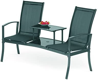 SunTime GF04996USA Havana Outdoor Seating, Black