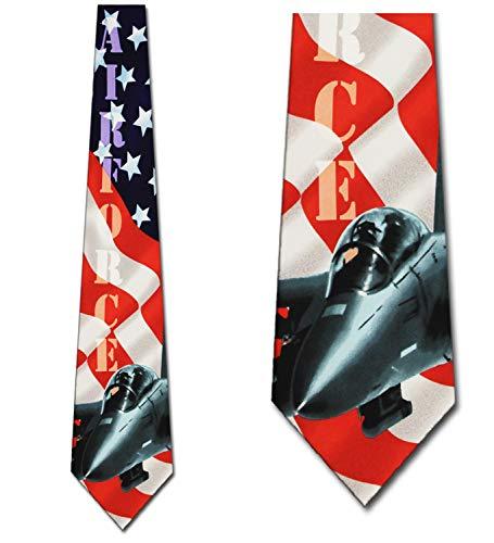 Air force Ties Military Neckties Flag tie Mens Neck tie