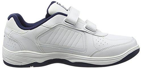 Uomo Belmont Bianco We white Indoor Sportive Gola navy Velcro Scarpe PHwBHAq