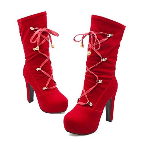 AdeeSu Red Sxc02010 Sxc02010 Femme Plateforme AdeeSu gYqXFwFdx4