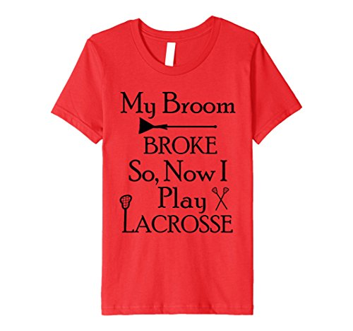 Kids My Broom Broke So I Play Lacrosse Halloween Lacrosse Shirt 8 (Two Broke Girls Halloween Costume)