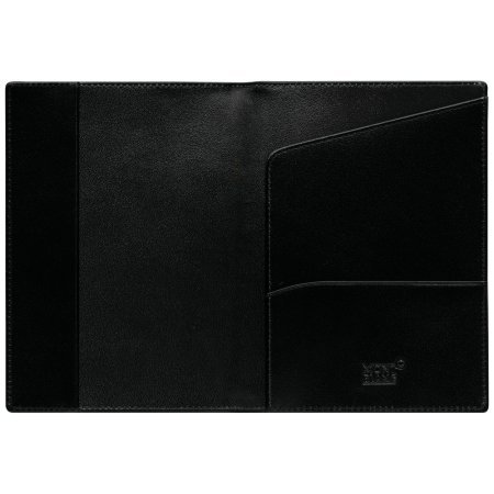 Montblanc International Passport Holder in Glossy Black Leather by MONTBLANC (Image #1)