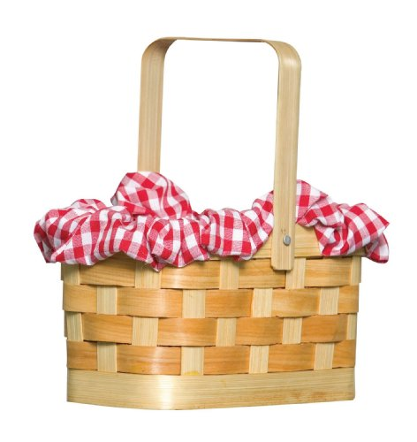 Gingham Basket Costume (Little Red Riding Hood Basket)
