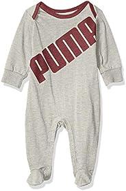 PUMA Baby-Boys Fleece Coverall Footie
