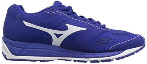 Mizuno Mens Synchro Mx Scarpa Da Baseball Royal White