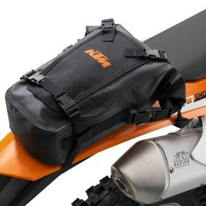 NEW KTM UNIVERSAL WATER PROOF REAR BAG EXC XC SX SXF SXS EXC (Ktm Accessories)