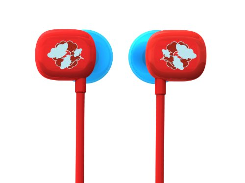 Ultimate Ears 100 Noise-Isolating Earphones - Red/Blue (Discontinued by Manufacturer) ()