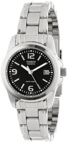 Casio Women's LTP1215A-1ACR Stainless Steel Watch from Casio