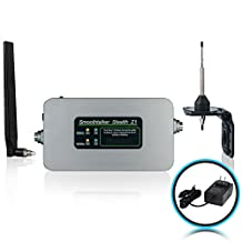 Smoothtalker Stealth Z1 65dB 2-Band 3G 4G LTE High Power Cellular Signal Booster Kit. Covers up to 6500 sq. ft.