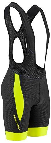 Louis Garneau Men's CB Carbon 2 Padded, Sleeveless Cycling Bib Shorts, Bright Yellow, Large