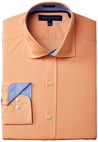 Tommy Hilfiger Men's Regular Fit Solid, Orange, 17 32/33 Months