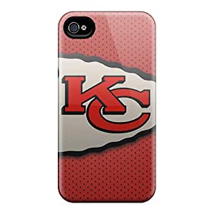 Iphone 6 FPF1833MQos Custom HD Kansas City Chiefs Image Shockproof Hard Phone Covers -ChristopherWalsh