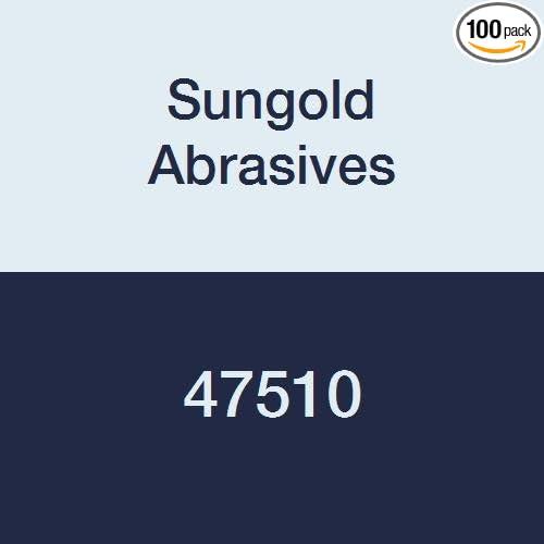 Sungold Abrasives 47510 5 Hole 180 Grit PSA Linkroll Sticky Back Stearated Aluminum Oxide Discs 5 5