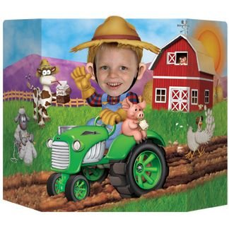 Beistle 57989 Farm Photo Prop, 37