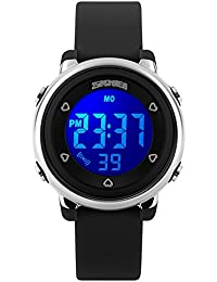 Kids Watches 50M Waterproof Sports Digital Watch with LED...