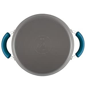 Rachael Ray Hard-Anodized Aluminum Nonstick Covered Stockpot