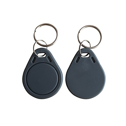 13.56MHZ MIFARE Classic 1K Keychain Grey color pack of 10 ()