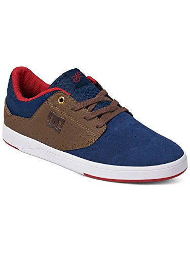 Dc Shoes Trainers Plaza Tiago M Shoe Navy / Chocolate 10d