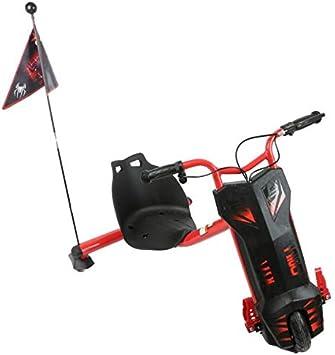 سكوتر درفت كهربائي 3 عجلات عالي السرعه وبلوتوث - احمر