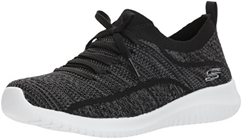 Ultra Donna Grey Flex Sneaker Statements Skechers Nero Black vOHdqq1w