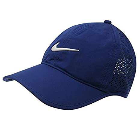 Nike Perforated Gorra de golf para mujer, azul cobalto: Amazon.es ...