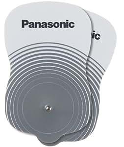 Panasonic EW0603 - Electrodos adhesivos para estimuladores eléctricos transcutáneos de la fibra nerviosa (TENS) EW6011 y EW6021 (2 unidades)