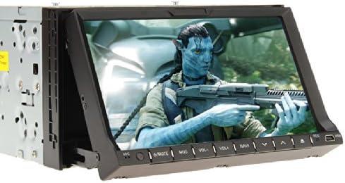 Ouku doble 2 DIN 7 pulgadas Car Stereo Radio Reproductor de DVD en Dash iPod Bluetooth pantalla táctil MP3: Amazon.es: Iluminación