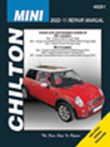 chilton total care care mini cooper mk 1 mk2 2002 2011 repair rh amazon com Car Repair Manual Online 28730 Chilton Repair Manuals PDF