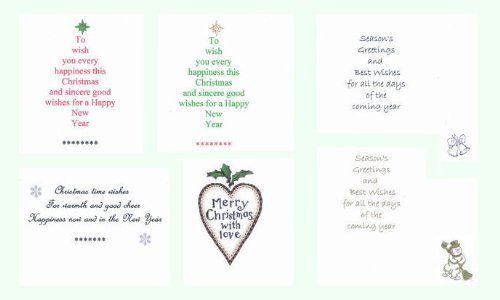 Pack of 18 christmas cardmaking card inserts traditional design pack of 18 christmas cardmaking card inserts traditional design to fit a6 cards amazon toys games m4hsunfo