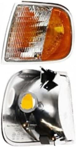 Amazon Com Turn Signal Light Replacement For 97 03 Ford F150 Lariat Xl Xlt Corner Lamp Left Lh New 98 99 00 Automotive