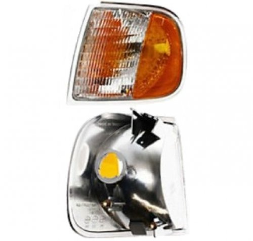 Turn Signal Light Fits 97-03 FORD F150 LARIAT XL XLT CORNER LAMP LEFT LH NEW 98 99 00 ()