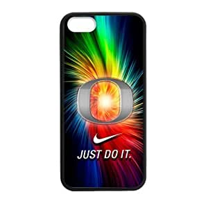 Goopuer Design Colorful NCAA Oregon Ducks Case For Iphone 6 Plus 5.5 Inch Cover Silicone PC with NIKE JUST DO IT Logo