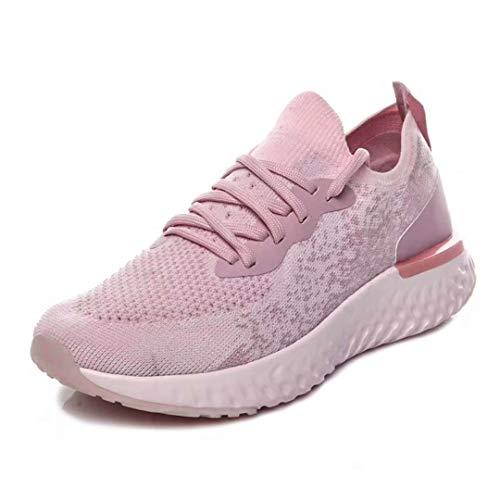Mouche Marche Ligne Respirante 42 Danliker Femmes De Idéale Chaussures Hommes Quotidien Légère rose Et Sport L'exercice La Pour wOfO80qY