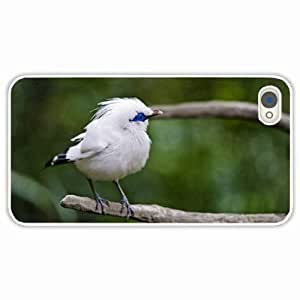 Apple iPhone 4 4S Cases Personlized Gifts White Durable Hard Plastic Cases