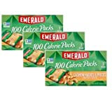 Emerald Roasted & Salted Cashew Halves & Pieces 100 Calorie Packs, 7's (Pack of 3)