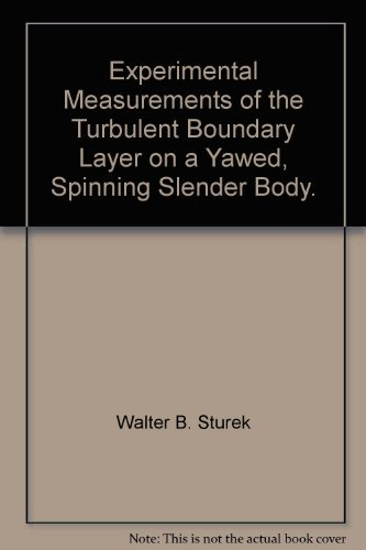 Experimental Measurements of the Turbulent Boundary Layer on a Yawed, Spinning Slender Body.