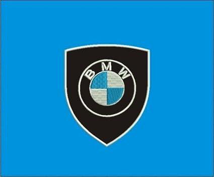 Patch BMW Emblème LOGO sur écusson cm 5,5 x 6,5 Patch brodé broderie ... d9233536a61