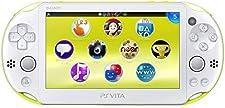 Sony Playstation Vita Wi-Fi 2000 Series Slim  (White/Neon Green)(Renewed)