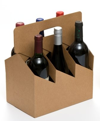 6pk Open Wine Carrier