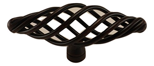 East West Consolidated 899ORB-1 Oil Rubbed Bronze Bird Cage Cabinet Knob 3
