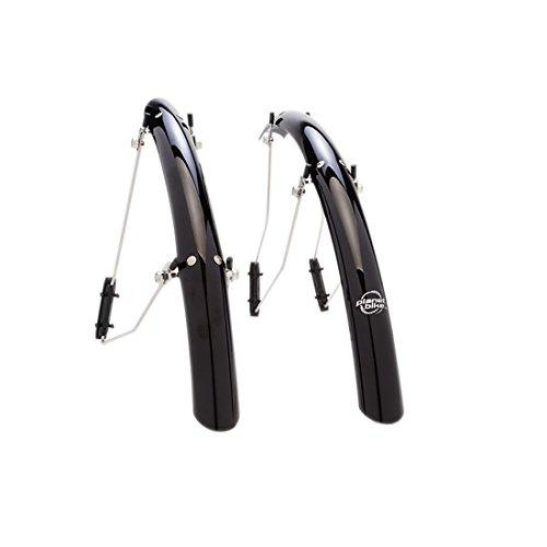 (Planet Bike SpeedEZ Bike fenders - 700c x 35mm (Black))