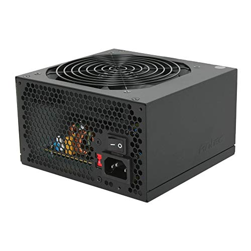 - Antec VP450 Power Supply 450 Watts PSU with 120mm Silent Cooling Fan, Dual +12 V Rails, ATX12V 2.3, 2 Years Warranty