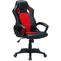 PU racer chair Upl:PU+mesh Arm: PP with PU pading Mch: butterfly tilt Gas lift: 100mm black class2 Base: 320mm nylon…