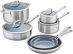 Zwilling J.A. Henckels Spirit Ceramic Nonstick 10-pc cookware set