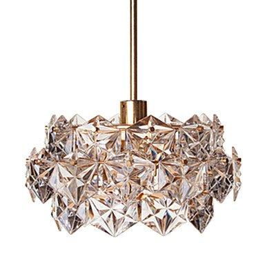 Modern Design Exclusive Crystal Ceiling Light Rose Gold