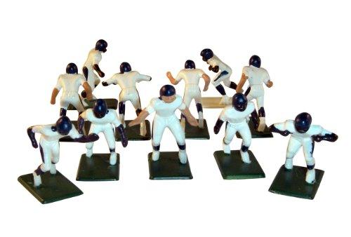 Electric Football 11 Regular Size Men in Blue Helmet Away Uniform (Electronic Football Men)